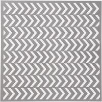 Stensil, piler, str. 30,5x30,5 cm, tykkelse 0,31 mm, 1 ark