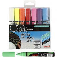 Chalk Marker, strek 1,8-2,5 mm, 8 stk./ 1 pk.