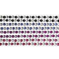 Rhinstenstickers, L: 15 cm, B: 4 mm, svart, blå, lilla, rød, 8 ark/ 1 pk.