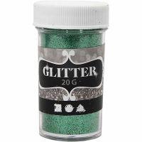 Glitter, grønn, 20 g/ 1 boks