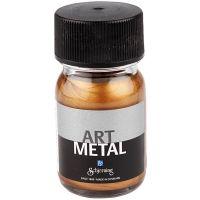 Hobbymaling metallic, antikk gull, 30 ml/ 1 fl.