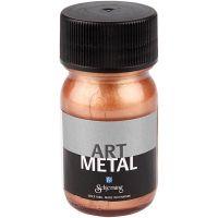 Hobbymaling metallic, kobber, 30 ml/ 1 fl.