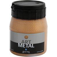 Hobbymaling metallic, mørk gull, 250 ml/ 1 fl.