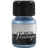 Hobbymaling metallic, pearl blå, 30 ml/ 1 fl.