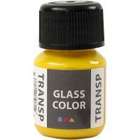 Glass Color Transparent, sitron gul, 30 ml/ 1 fl.