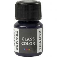 Glass Color Transparent, marineblå, 30 ml/ 1 fl.