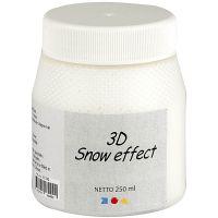 3D Snow effekt, hvit, 250 ml/ 1 boks