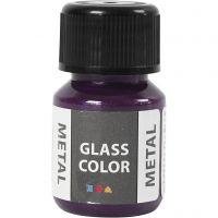 Glass Color Metal, lilla, 30 ml/ 1 fl.