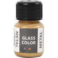 Glass Color Metal, gull, 30 ml/ 1 fl.