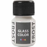 Glass Color Frost, hvit, 30 ml/ 1 fl.