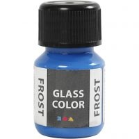 Glass Color Frost, blå, 30 ml/ 1 fl.