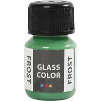 Glass Color Frost, grønn, 30 ml/ 1 fl.