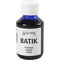 Batikkfarge, brilliant blå, 100 ml/ 1 fl.