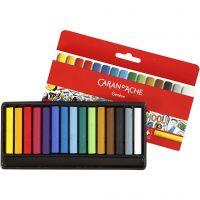 Neocolor I, L: 5 cm, tykkelse 8 mm, ass. farger, 15 stk./ 1 pk.