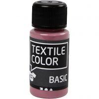 Textil Color, mørk rosa, 50 ml/ 1 fl.