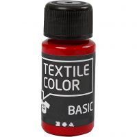 Textil Color, rød, 50 ml/ 1 fl.