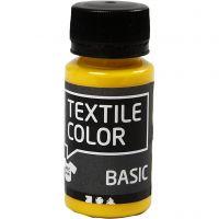 Textil Color, primær gul, 50 ml/ 1 fl.
