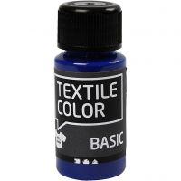 Textil Color, primær blå, 50 ml/ 1 fl.