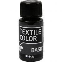 Textil Color, svart, 50 ml/ 1 fl.