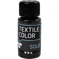 Textil Solid, dekkende, svart, 50 ml/ 1 fl.