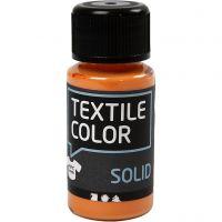 Textil Solid, dekkende, orange, 50 ml/ 1 fl.