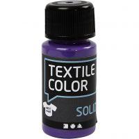 Textil Solid, dekkende, lilla, 50 ml/ 1 fl.