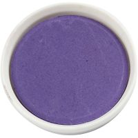 Vannfarge, dia. 30 mm, violet, 12 stk./ 1 pk.