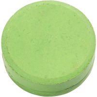 Vannfarge, H: 16 mm, dia. 44 mm, grønn, 6 stk./ 1 pk.