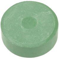 Vannfarge, H: 16 mm, dia. 44 mm, mørk grønn, 6 stk./ 1 pk.