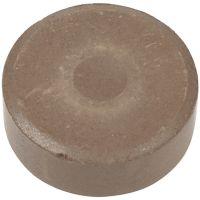 Vannfarge, H: 16 mm, dia. 44 mm, brun, 6 stk./ 1 pk.