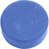 Vannfarge, H: 19 mm, dia. 57 mm, blå, 6 stk./ 1 pk.