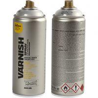 Spraylakk, blank, 400 ml/ 1 boks