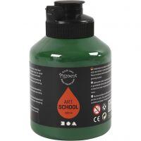 Pigment Art School, semi transparent, mørk grønn, 500 ml/ 1 fl.