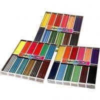 Colortime fargeblyanter, ass. farger, 576 stk./ 1 pk.