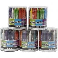 Colortime fargekritt, 5x48 ass./ 1 sett