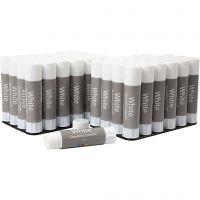 White limstift, 48 stk./ 1 pk., 10 g
