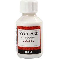 Decoupagelakk, matt, 100 ml/ 1 fl.