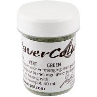 Paver Color, grønn, 40 ml/ 1 fl.