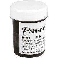 Paver Color, svart, 40 ml/ 1 boks