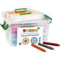 PRIMO vokskritt, ass. farger, 12x12 stk./ 1 pk.