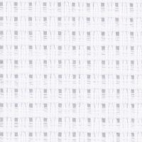 Aidastoff, str. 50x50 cm, 24 ruter pr. 10 cm , hvit, 1 stk.