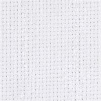 Aidastoff, B: 150 cm, 70 ruter pr. 10 cm, hvit, 3 m/ 1 stk.