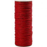 Paperyarn, tykkelse 1,8 mm, rød, 470 m/ 1 rl., 250 g