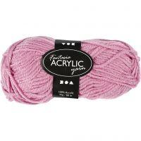 Fantasia Akrylgarn, L: 80 m, rosa, 50 g/ 1 nst.