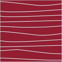 Stoff, B: 145 cm, 140 g, rød/hvit, 1 m
