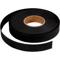 Flettestrimler, B: 15 mm, tykkelse 0,55 mm, svart, 9,5 m/ 1 rl.