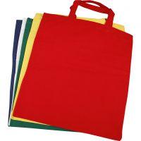 Mulepose, str. 38x42 cm, 135 g, ass. farger, 5 stk./ 1 pk.
