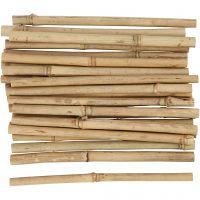 Bambuspinne, L: 20 cm, tykkelse 8-15 mm, 30 stk./ 1 pk.