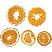 Tørkede appelsinskiver, dia. 40-60 mm, 5 stk./ 1 pk.