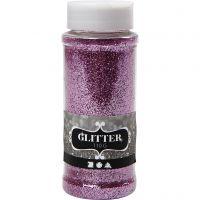 Glitter, pink, 110 g/ 1 boks